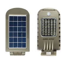 Gama Sonic Solar Security Light 6w Solar Security Light With Motion Sensor 101822