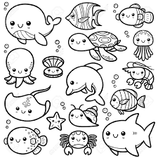 Fish but also sea animals coloring sheet are here. Best Ocean Animals Coloring Pages For Kids Best Coloring Pages For Kids
