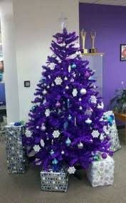 39 Beautiful Purple Christmas Tree Decoration Ideas
