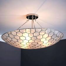 ceiling lights capiz ceiling light pendant captivating shell chandelier mariah flush mount fixture