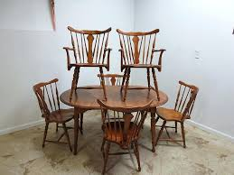 maple dining room chairs antique colonial maple dining room table 6 back chairs set vine maple