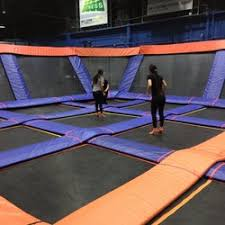 sky zone 14 photos 42 reviews troline parks 3636 hawkestone road mississauga on phone number last updated january 17 2019 yelp