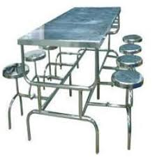 Small Picture Stainless Steel Dining Table in Hyderabad Telangana