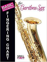 Bari Sax Finger Chart Basic Fingering Chart For Baritone Saxophone Tony