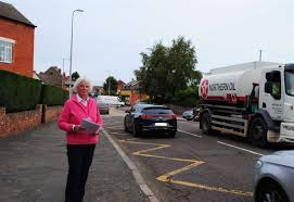 Great Gonerby woman, concerned about traffic near her house, conducts survey