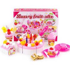 Girl Cake <b>Toy</b> Simulation Cut Cake Kitchen <b>Toy</b> Set <b>game</b> Cut Fruit ...