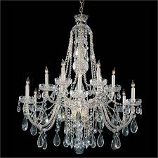 crystorama traditional crystal12 light spectra crystal polished brass chandelier iii