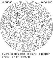 16 Dessins De Coloriage Magique A Imprimer Imprimer