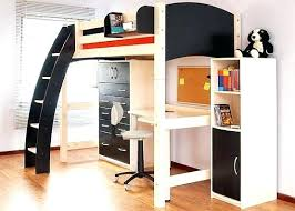 bunk bed office underneath. Office Bunk Bed Top With Desk Underneath D