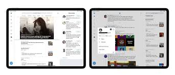 Ipad Web Design App Twitter For Ipad Updated With Redesigned Interface And Multi