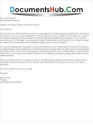 Employee Performance Letter Sample Termination Letter Sample For Poor Performance Scrumps