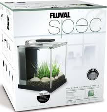 Fluval Spec V Black Slip On Led Light Fluval Spec Iii Aquarium Kit 2 6 Gallon Amazon In Pet