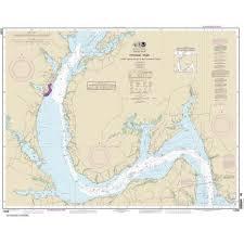 Noaa Chart 12288 Potomac River Lower Cedar Point To Mattawoman Creek