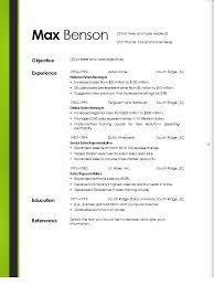 Free Online Resume Templates Word Free Resume Example Basic Resumetemplate Free  Download Basic Ideas