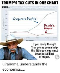 Trumps Tax Cuts In One Chart 100 Corporate Profits After