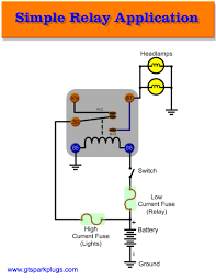 introduction to automotive relays gtsparkplugs simple automotive relay connection