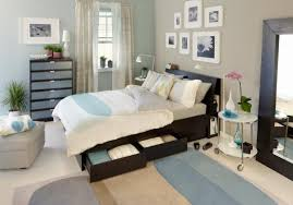 Small Bedroom Solutions Ikea Excellent Small Bedroom Ideas Ikea The Design With White Bed Along