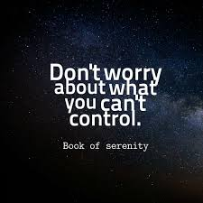 Book Of Serenity Quote About Worry