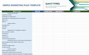 Simple P L Excel Template Marketing Plan Excel Template Magdalene Project Org