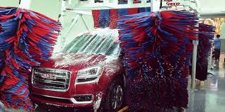 car wash works how an automatic car wash works express jet car wash