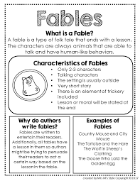 Genre Mini Anchor Charts Reading Lessons Reading Genres