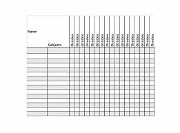 blank gradebook template printable grade book pages