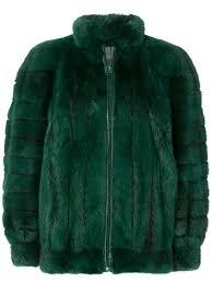 dior pre owned mink fur coat