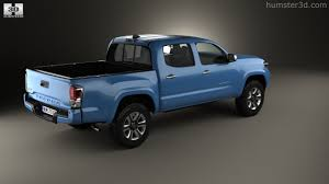 360 view of Toyota Tacoma Double Cab Short Bed 2014 3D model ...