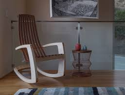 Rocking Chair Modern jrusten furniture studio the modern rocking chair 3728 by guidejewelry.us
