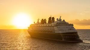 the disney magic cruise ship sailing in open waters