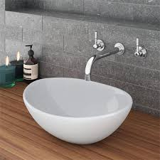 casca oval counter top basin 0th 400 x 330mm