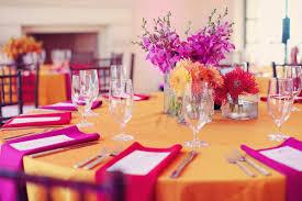 Fabulous Pink And Orange Wedding Bright Modern Pink Amp Orange Wedding Part  2 Every Last Detail