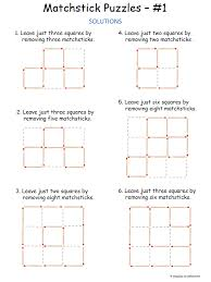 Puzzle solutions | Gym work out | Pinterest | Printable brain ...