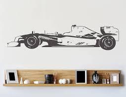 formula one racing car vinyl wall sticker