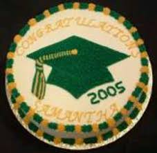 31750384 Graduation Cake Cake Is A White Half Sheet Cake With Bc