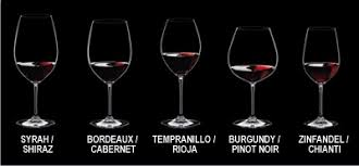Wine Glass Shape Chart Great Grapes Great Grapes In A Glass