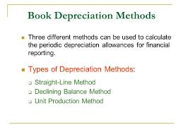Different Depreciation Methods Chapter 8 Depreciation And Income Taxes Ppt Video Online Download