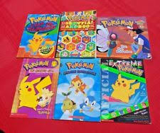 great fun lot of 6 childrens books pokemon series variety les collectible
