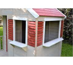 Wendi Toys Kinderspielhaus Krokodil Gartenhaus Inkl Fenster