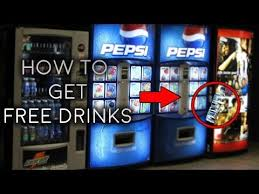 Hack Pepsi Vending Machine Delectable Best Vending Machine Hacks 48 FREE Soda Money Coca Cola Foods