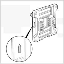 install your zen thermostat for home zen thermostat wall plate orientation arrow pointed upwards