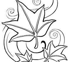 coloring pages leaves autumn fall page leaf of free printable foliage colouring crayola