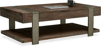 accent and occasional furniture union city lift top cocktail table bark