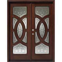 exterior double door units. solid wood mahogany 30\u0027\u0027 circular exterior double door unit units