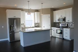 Small Picture Remarkable L Kitchen Layout With Island White Large Center