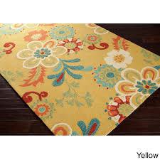 indoor outdoor area rugs pottery barn new hand hooked kim transitional fl indoor outdoor area rug