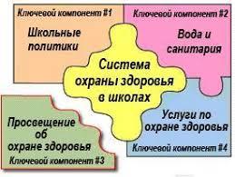 Охрана здоровья в рамках школьного курса обучения Методики  компонент 3