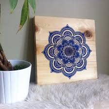>wood wall art mandala design mandala painting wooden sign  wood wall art mandala design mandala painting wooden sign contemporary mandala modern mandala wall hanging blonde wood home decor
