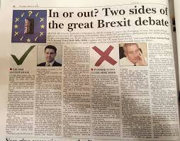 example of a newspaper article euref an example local newspaper article for in