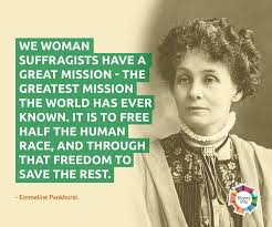 Image result for emmeline pankhurst